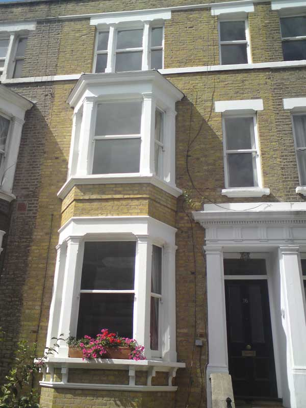 London yellow stock brick cleaning London