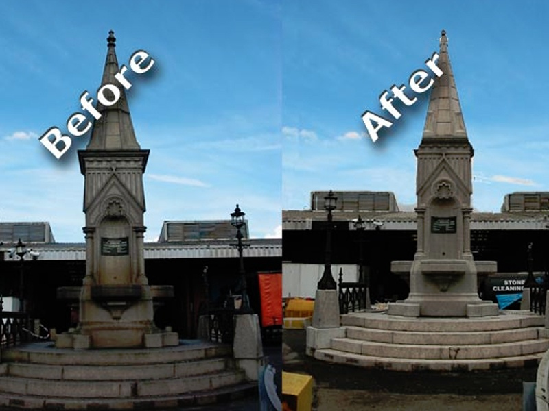 Stone Cleaning Monument London