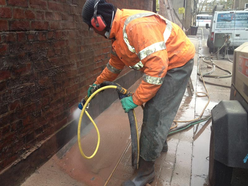 Abrasive cleaning London